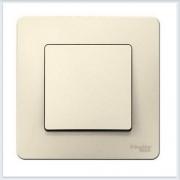 Blanca Молочный Выключатель 1-клавишный, 10А, 250B