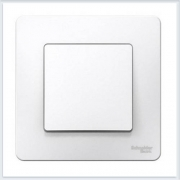 Blanca Белый Переключатель 1-клавишный, 10А, 250B