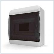 Щит навесной 8 модулей прозрачная дверь Tekfor - BNK 40-08-1