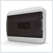 Щит навесной 12 модулей прозрачная дверь Tekfor - BNK 40-12-1
