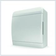 Щит навесной 8 модулей белая дверь Tekfor - BNN 40-08-1