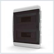 Щит встраиваемый 24 модулей прозрачная дверь Tekfor - BVZ 40-24-0