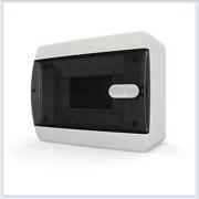 Щит навесной 6 модулей прозрачная дверь Tekfor - CNK 40-06-1