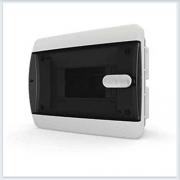 Щит встраиваемый 6 модулей прозрачная дверь Tekfor - CVK 40-06-1