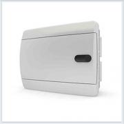 Щит встраиваемый 8 модулей белая дверь Tekfor - CVN 40-08-1