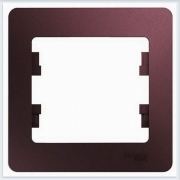 Рамка 1-ая Glossa Баклажановый  GSL001101