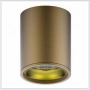 Светильник накладной HD001 12W кофе золото