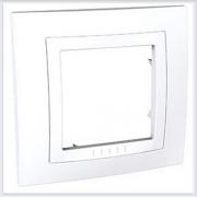 Рамка 1-ая Белая литая Schneider-Electric Unica - MGU2.002.18M