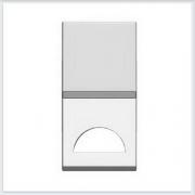 АББ - ABB - Zenit - Зенит - Клавиша выключателя - С окошком для символа - С окном - Накладка для выключателей - диммеров - жалюзийных переключателей - таймеров - 2CLA210190N1101