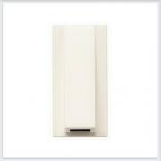 АББ - ABB - Кабельный вывод - Zenit - Зенит - Вывод для кабеля из стены - Накладка - вставка - механизм для коммуникационных устройств - 2CLA210700N1101