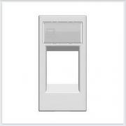 АББ - ABB - Zenit - Зенит - Накладка для компьютерной розетки - Телекоммуникационной розетки - Накладка - вставка - механизм для коммуникационных устройств - 2CLA211810N1101