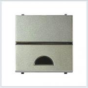 АББ - ABB - Zenit - Зенит - Клавиша выключателя - С окошком для символа - С окном - Накладка для выключателей - диммеров - жалюзийных переключателей - таймеров - 2CLA220190N1901