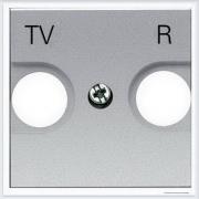 АББ - ABB - Zenit - Зенит - Накладка телевизионной розетки - Лицевая панель - Тв розетки - Спутниковой розетки - Накладка - вставка - механизм для коммуникационных устройств - 2CLA225080N1301