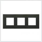 АББ - Рамка - ABB - Zenit - Зенит - Рамка декоративаная - Рамка для выключателей - Рамка для розеток - Рамка для электроустановочных устройств - 2CLA227300N1801