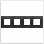 АББ - Рамка - ABB - Zenit - Зенит - Рамка декоративаная - Рамка для выключателей - Рамка для розеток - Рамка для электроустановочных устройств - 2CLA227400N1801