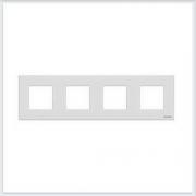 АББ - Рамка - ABB - Zenit - Зенит - Рамка декоративаная - Рамка для выключателей - Рамка для розеток - Рамка для электроустановочных устройств - 2CLA227400N1101