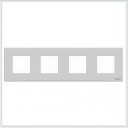 АББ - Рамка - ABB - Zenit - Зенит - Рамка декоративаная - Рамка для выключателей - Рамка для розеток - Рамка для электроустановочных устройств - 2CLA227400N1301