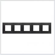 АББ - Рамка - ABB - Zenit - Зенит - Рамка декоративаная - Рамка для выключателей - Рамка для розеток - Рамка для электроустановочных устройств - 2CLA227500N1801