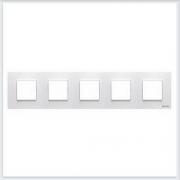 АББ - Рамка - ABB - Zenit - Зенит - Рамка декоративаная - Рамка для выключателей - Рамка для розеток - Рамка для электроустановочных устройств - 2CLA227500N1101