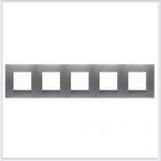 АББ - Рамка - ABB - Zenit - Зенит - Рамка декоративаная - Рамка для выключателей - Рамка для розеток - Рамка для электроустановочных устройств - 2CLA227500N1301