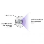 Бактерицидные облучатели OBN LITE2 130 без ламп УФ. 1774000060 Световые технологии