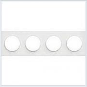 Рамка 4-я Белый Schneider-Electric Коллекция Odace арт. S52P808
