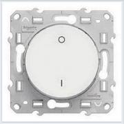 Выключатель 2-полюсный 16А Белый Schneider-Electric Коллекция Odace арт. S52R262