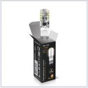 Лампа Gauss светодиодная LED патрон G9 AC85-265V 3W 2700K - SS107709103