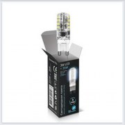 Лампа Gauss светодиодная LED патрон G9 AC85-265V 3W 4100K - SS107709203