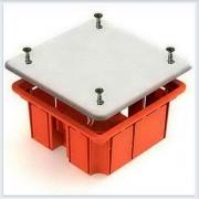 Коробка распаячная  для скрытого монтажа в кирпичных стенах