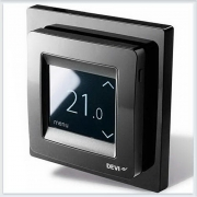 Терморегулятор Devi Devireg Touch с комбинацией датчиков, черный Арт. 140F1069