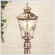 Diadema F черное золото уличный светильник на столбе IP44