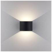Blade черный уличный настенный светодиодный светильник
