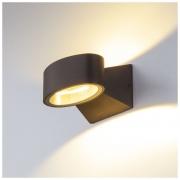Blinc черный уличный настенный светодиодный светильник