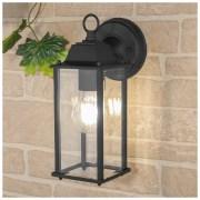 Brick черный уличный настенный светильник