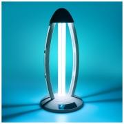 Бытовой бактерицидный ультрафиолетовый светильник UVL-001 Серебро