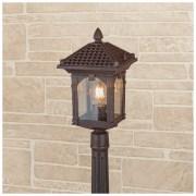 Corvus F капучино уличный светильник на столбе IP44