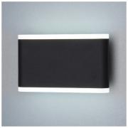 Cover чёрный уличный настенный светодиодный светильник