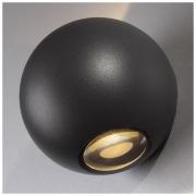 Diver черный уличный настенный светодиодный светильник