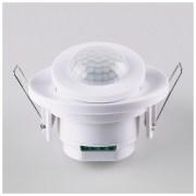 Инфракрасный датчик движения  8m 2,2-4m 800W IP20 360° SNS-M-12 белый
