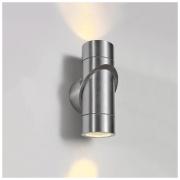 Vortex хром уличный настенный светодиодный светильник