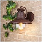 Talli D GL брауни уличный настенный светильник