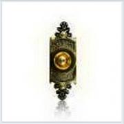 Кнопка звонка (медь) с овальной табличкой Zamel (Замель) - PDM 232
