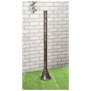 Столб для светильника 1043 120 см черное золото