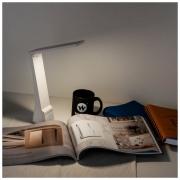 Настольный светодиодный светильник Desk белый золотой