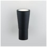 Tube uno черный уличный настенный светодиодный светильник