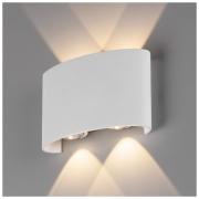Twinky double белый уличный настенный светодиодный светильник
