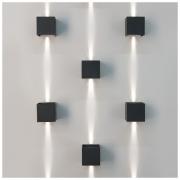Winner серый уличный настенный светодиодный светильник