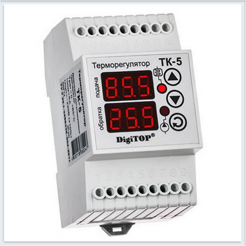 Терморегулятор, ТК-5, Измерительные приборы, Терморегуляторы DigiTOP