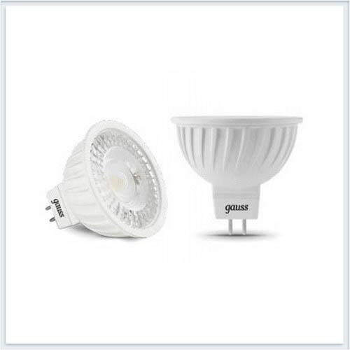 Лампа светодиодная MR16 GU5.3 7W 4100K Gauss - 101505207